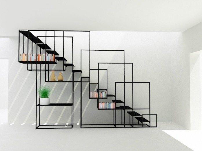 escalier-metal-design