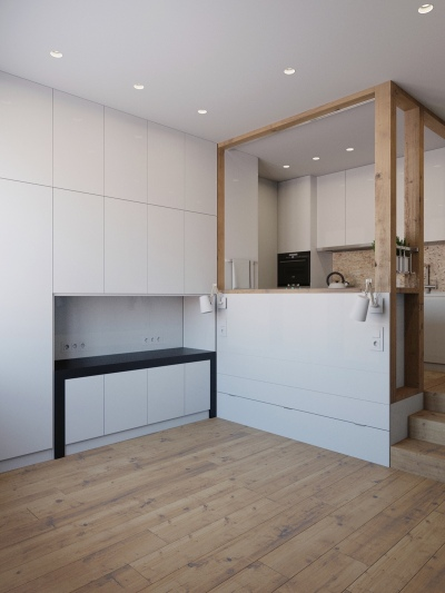 Small-space-apartment-kitchen-unit-without-lounge-backing