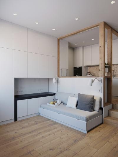 Storage-friendly-TV-cabinet-box-design-living-area-and-kitchen